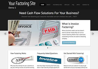 Factoring-Theme1-Screenshot