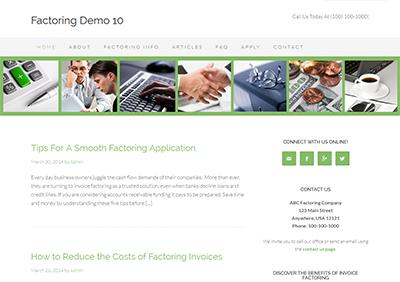 Factoring-Theme10-Screenshot