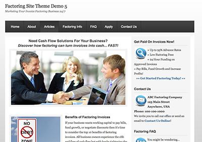 Factoring-Theme5-Screenshot