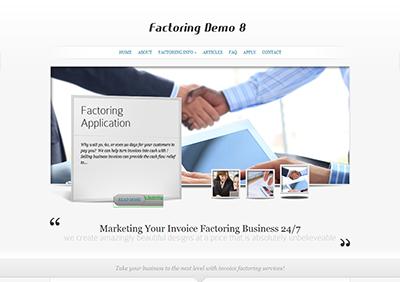 Factoring-Theme8-Screenshot