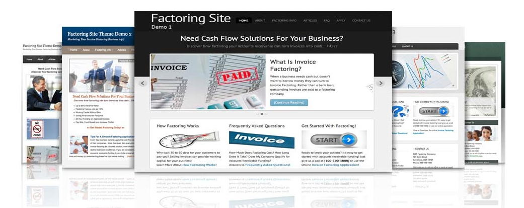 Start Your Factoring Business With a Website